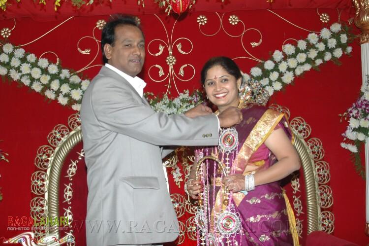 Director Ravi Chavali Swathi Wedding Reception
