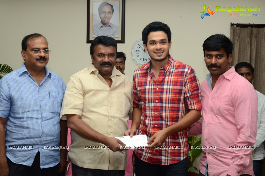 Vinavayya Ramayya Hero Nag Anvesh Donated 1 Lakh For Green Hyderabad