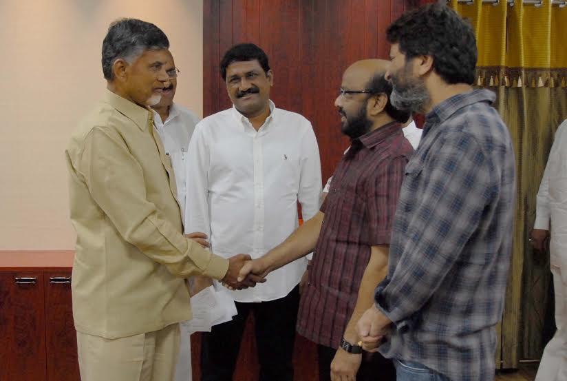 Producer Radhakrishna donates 5 Lakhs to Hudhud Relief Fund